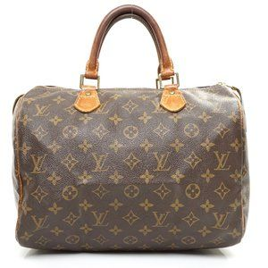 Auth Louis Vuitton Speedy 30 Hand Bag #6468L18